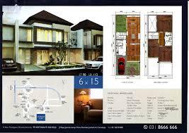 Desain Rumah Lebar 6 Meter   denah lebar 6 meter gambar rumah idaman com