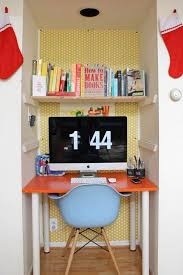 Small Home Office Desk Ideas Yes You Can Fit A Home Office Into Your Tiny Home Apartment Therapy