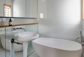 Floor To Ceiling Mirror by Latest Trends In Decorating With Bathroom Mirrors