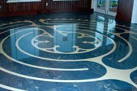 Blue Ceramic Floor Tile Ceramic Floor Tile Kits The Labyrinth Company