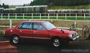 red subaru sedan subaru leone ab 1980 sedan hardtop ab japanclassic