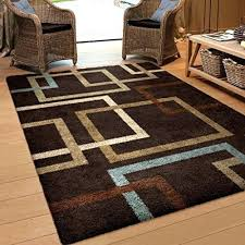 Blue Brown Area Rugs Brown Blue Area Rug Tapinfluence Co