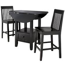 Pub Table And Chairs Set 3 Piece Storage Pub Set Threshold Target