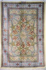 Rugs 3x5 Qom Mohammadi 100 Pure Silk Persian Rug 3x5 Area Rugs By