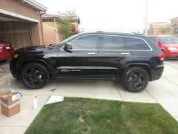 charcoal jeep grand cherokee black rims 2014 jeep grand cherokee overland rims