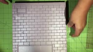 brick walls 015 tutorial diorama brick walls from start to finish youtube