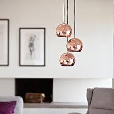Copper Pendant Light Uk Ball Copper Pendant Light