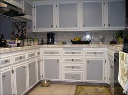 kitchen blue painted kitchen cabinets cream colored kitchen