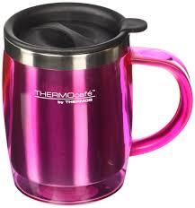 Desk Mug Thermos Thermocafé Translucent Desk Mug Pink 450 Ml New Ebay