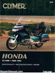 clymer honda gl1500 gold wing 1988 1992 repair manual