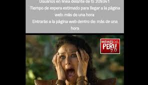 Memes De Peru Vs Colombia - teleticket memes que parodian venta de entradas para per禳 vs