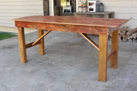 barn door dining table old red barn door dining table m jones creations