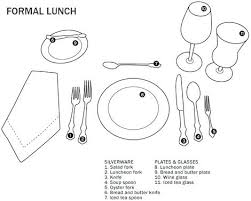 proper table setting etiquette formal table setting how to set the table formal table setting