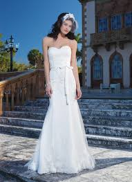 sincerity wedding dress style 3850 tulle corded lace fit and