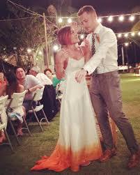 ombre wedding dress trend popsugar fashion