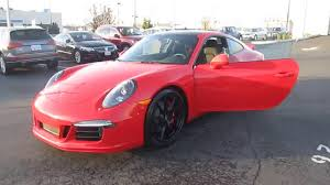 red porsche 911 2016 porsche 911 guards red stock 90043 walk around youtube