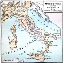 Map Of Italy With Cities by Ancient Italy Maps Pinterest History