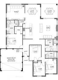 100 two bedroom house plan smart idea single story 2 master