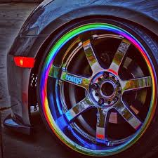 neo chrome rims almost like ones i had but they were 5 spoke and darker