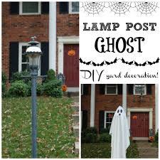 easy diy ghost yard decoration seeing dandy
