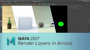 maya 2017 render layers in arnold tutorials pinterest maya