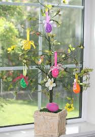 german easter egg tree trees to decorate your home for ultimate springtime splendor