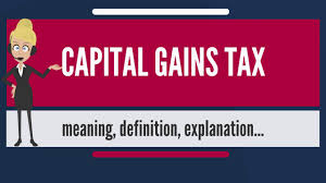 Qualified Dividend And Capital Gain Tax Worksheet What Is Capital Gains Tax What Does Capital Gains Tax Mean