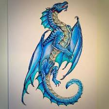 tattoo dragon water tsunami rules dragons wings of fire pinterest dragons