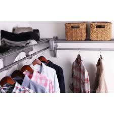 ez shelf 12 u0027 closet organizer kit up to 12 2 u0027 of hanging and