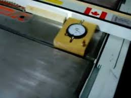 central machinery table saw fence dial indicator for table saw fence youtube