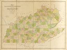 Kentucky Tennessee Map by Map Of Kentucky And Tennessee World Digital Library