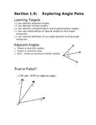 all worksheets complementary and supplementary angles worksheet