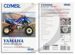 2006 2009 yamaha raptor yfm700r repair manual clymer m290 service