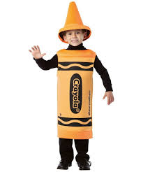 Crayon Halloween Costume Crayon Outrageous Orange Kids Costume Crayon Costumes