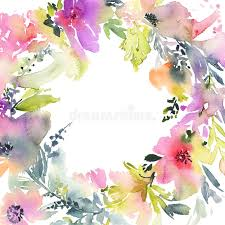 handmade watercolor cards greeting card with flowers pastel colors handmade watercolor