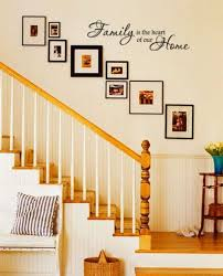 Staircase Decorating Ideas Wall Comfortable Up The Stairs Wall Decor Gallery The Wall