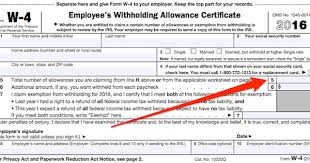 W4 Worksheet Figuring Out Your Form W 4 How Many Allowances Should You Claim