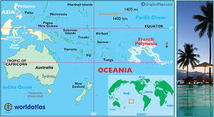 polynesia map of world polynesia map geography of polynesia map of