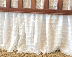 Bed Skirt For Crib Ruffle Crib Skirt Etsy
