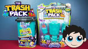 trash pack mystery series gross ghosts unboxing kinder