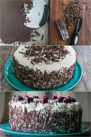 black forest cake recipe german chocolate cake