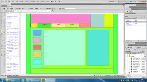 website layout using div and css web design week 2