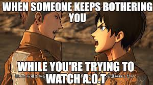 aot annoying people by attackontitanmemes on deviantart