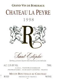 your next lesson value bordeaux chateau la peyre rosenthal wine merchant