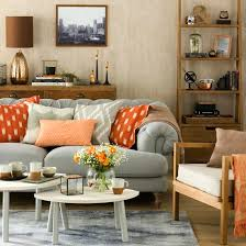 Mixing Leather And Fabric Sofas by Great Schemes With Mix And Match Living Room Chairs Ideal Home