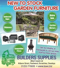 Second Hand Garden Furniture Merseyside Save With A Builders Supplies Loyalty Card