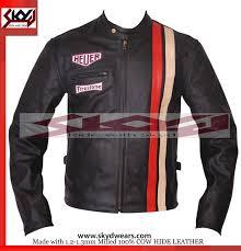 leather motorcycle racing jacket suzuki icon gsxr racing motorcycle leather black jacket all sizes
