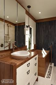 Teak Vanities Custom Teak Wood Vanity Top For A Bathroom In Washington Dc
