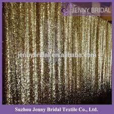 bck087 custom made gold sequin curtain wedding backdrop buy