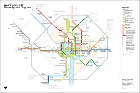 washington dc metro map national harbor the re design of the dc metro map